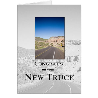 3719 Congrats on New Truck Card