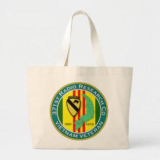 371st RRC 1 - ASA Vietnam Large Tote Bag