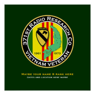 371st RRC 2 - ASA Vietnam Poster