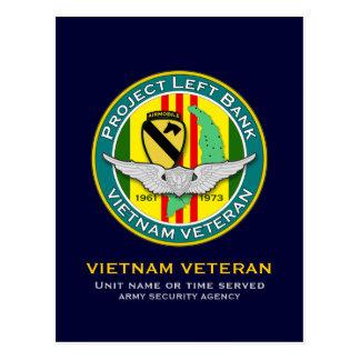 371st RRC PLB 1 - ASA Vietnam Postcard