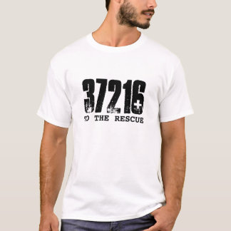 37216, TO THE RESCUE TSHIRT