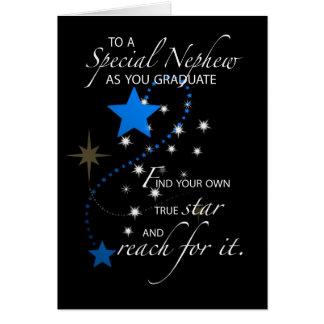 3729 Nephew Graduation Star Card