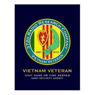 372d RRC - ASA Vietnam Postcard