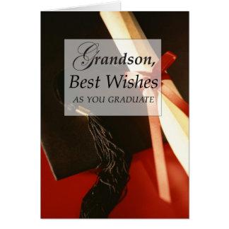3732 Grandson Graduation Card