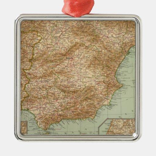 3738 Spain, Portugal Christmas Tree Ornament