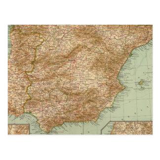 3738 Spain, Portugal Post Card