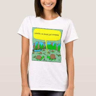 373 turtle stampede cartoon T-Shirt