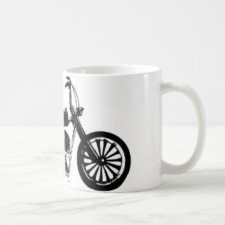 374 Chopper Bike Classic White Coffee Mug