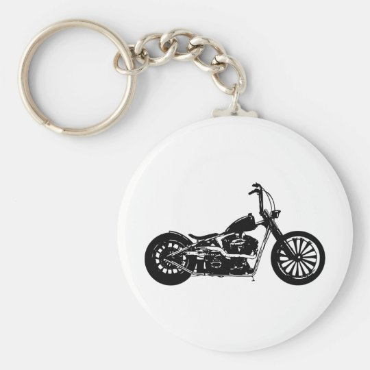 374 Chopper Bike Keychain