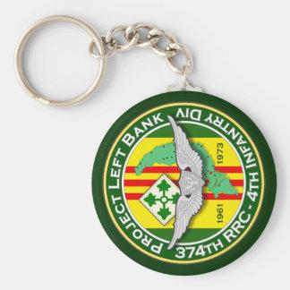 374o RRC PLB 3c - ASA Vietnam Llavero Redondo Tipo Pin