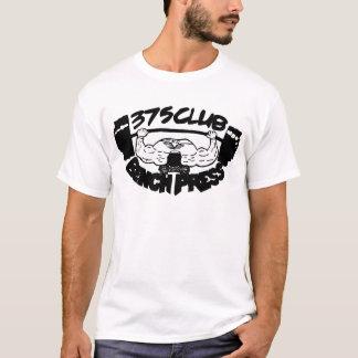 375 Club Bench Press Basic T Shirt