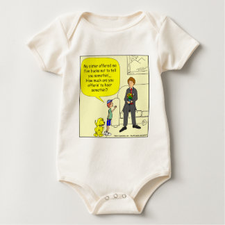 375 sister offered 5 bucks cartoon baby bodysuit