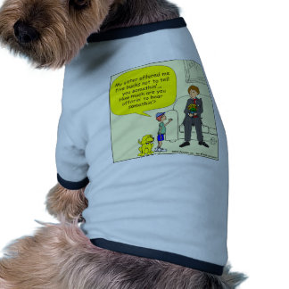 375 sister offered 5 bucks cartoon pet clothing