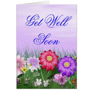 375large, 375large, 375large, 375large, Get Wel... Greeting Card