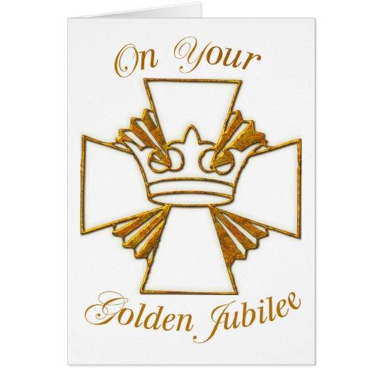 3773 Golden Jubilee of Religious Life Card
