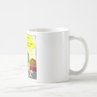 377 funeral mercy on his soul cartoon classic white coffee mug