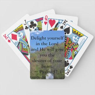 37:4 del salmo baraja