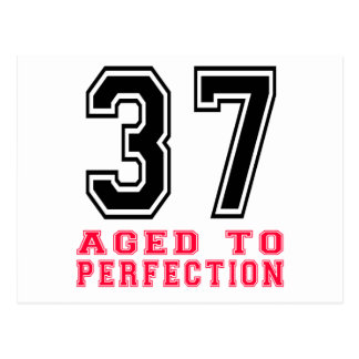 37 Aged to Perfection Post Card