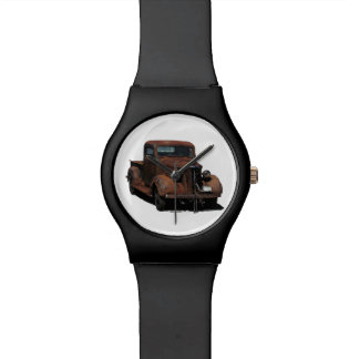 '37 aherrumbrados Chevy cogen el camión Relojes De Mano