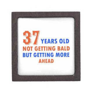 37 años divertidos del diseño caja de recuerdo de calidad