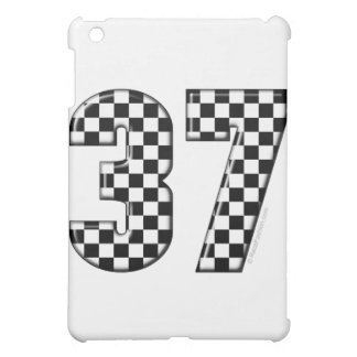 37 auto racing number iPad mini case