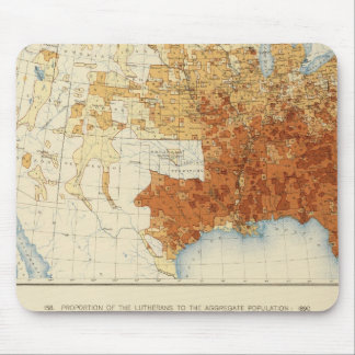 37 Baptists, Lutherans 1890 Mouse Pads