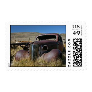 '37 Chevy en Bodie, CA - franqueo Sellos