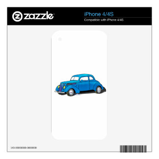 37 Ford Club Coupe iPhone 4S Decal