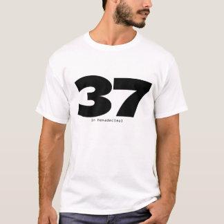 37 in hexadecimal T-Shirt