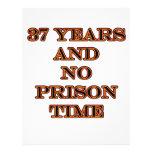 37 No prison time Flyer