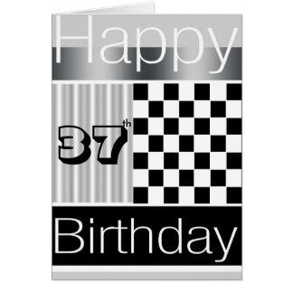 37.o Cumpleaños Tarjeta De Felicitación