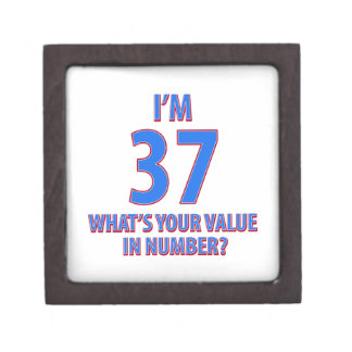 37.os diseños del cumpleaños cajas de recuerdo de calidad