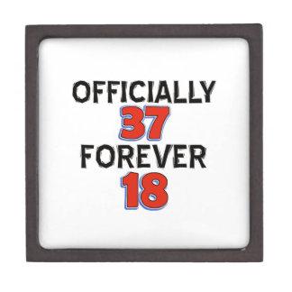 37.os diseños del cumpleaños cajas de regalo de calidad