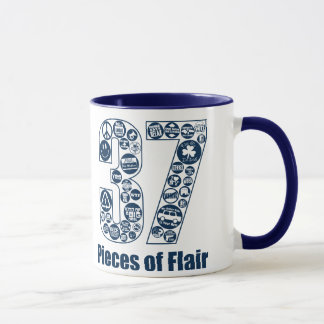 37 Pieces of Flair (dark lettering) Mug