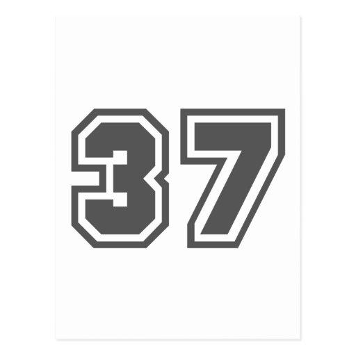 37 TARJETAS POSTALES