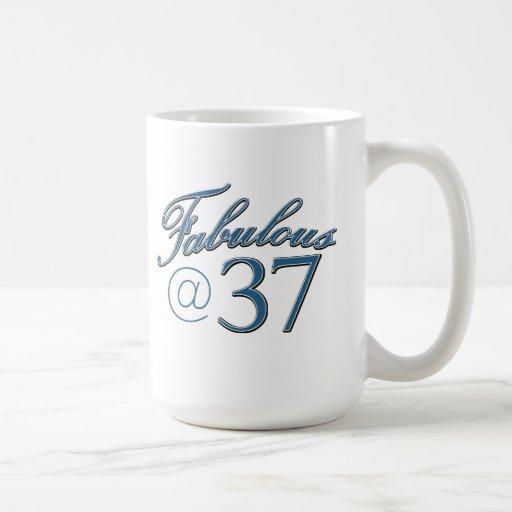 37 year old birthday designs mugs