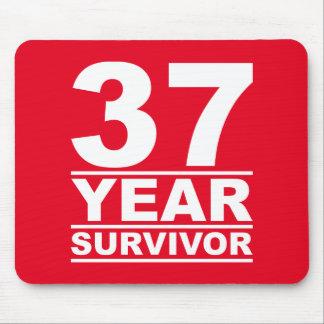 37 year survivor mouse pad