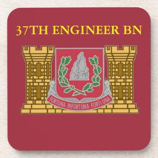 37TH ENGINEER BATTALION DRINK COASTERS