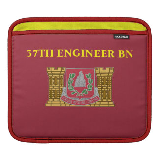 37TH ENGINEER BATTALION iPAD SLEEVE