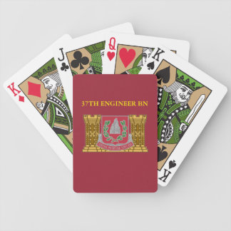 37TH ENGINEER BATTALION PLAYING CARDS