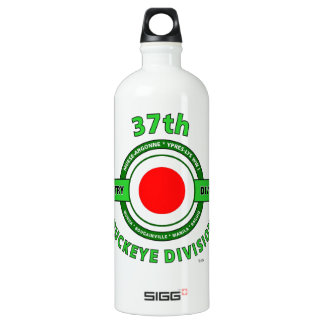 """37TH INFANTRY DIVISION """"BUCKEYE DIVISION"""" ALUMINUM WATER BOTTLE"""