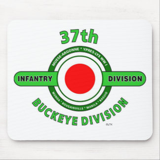 "37TH INFANTRY DIVISION ""BUCKEYE DIVISION"" MOUSE PAD"