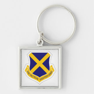 37th Tactical Fighter Wing Keychain