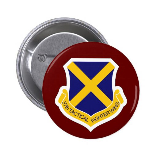37th Tactical Fighter Wing Pinback Button
