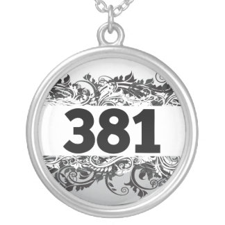 381 SILVER PLATED NECKLACE