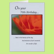 3825 70th Birthday Card