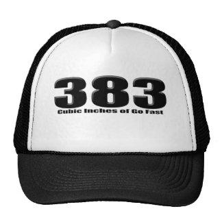 383 frotados ligeramente gorra