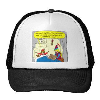 383 robin hood overhead cartoon trucker hat