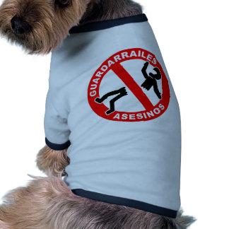 384 Guardarrailes Asesinos Camiseta De Mascota