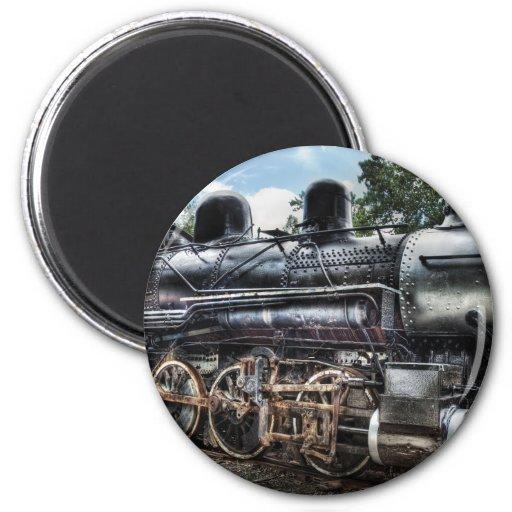 385 - Locomotora de la consolidación de Baldwin 2- Iman De Nevera